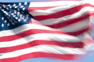 U.S.Flag.InWind
