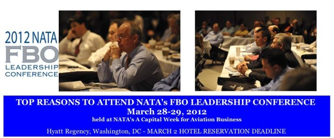 NATACS, Proud Sponsor of NATAs FBO Leadership Conference